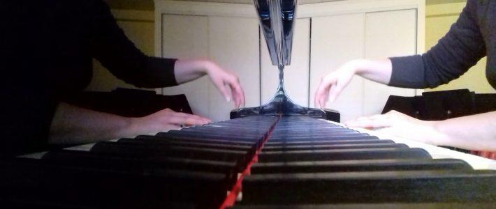 JACQUES BREL – Ne me quitte pas – piano cover interprétée par Véronique BRACCO