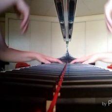 """SAINT-SAENS """"Mon coeur s'ouvre à ta voix"""" (piano transcription) Véronique BRACCO, piano"""