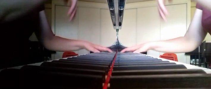 SAINT-SAENS «Mon coeur s'ouvre à ta voix» (piano transcription) Véronique BRACCO, piano