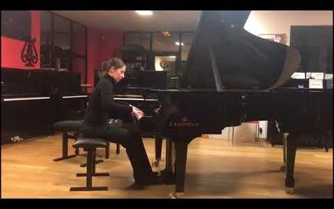 "Véronique Bracco – Composition ""Destinée"" #PianoDayChallenge 2018"