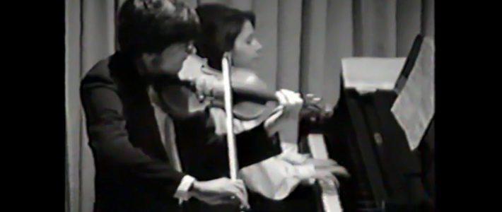 Romance en Ré Majeur pour violon et piano de Véronique Bracco