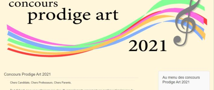 "Mon ""Rondo n°1"" programmé au ""Concours Prodige Art / Steinway & Sons"" 2021"