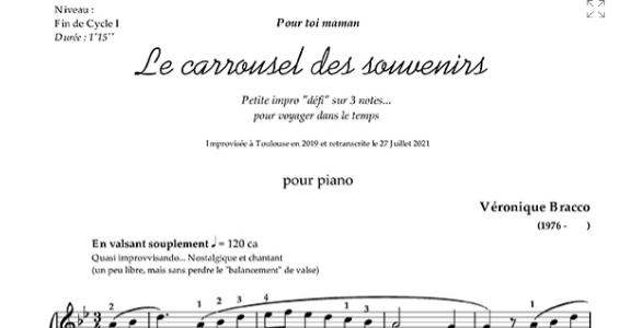 Mon Carrousel des souvenirs publié aux Editions Soldano