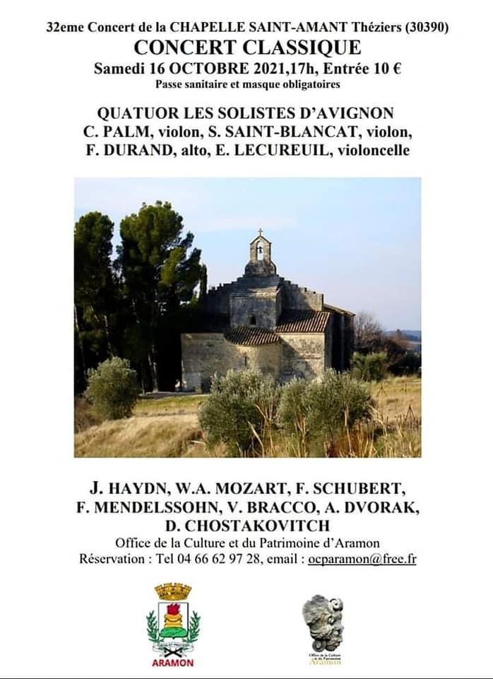 Chapelle Saint-Amant (30390 Théziers)